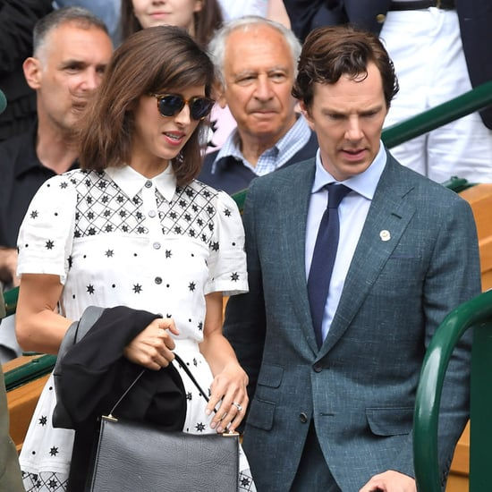 Celebrities at Wimbledon Tennis 2016