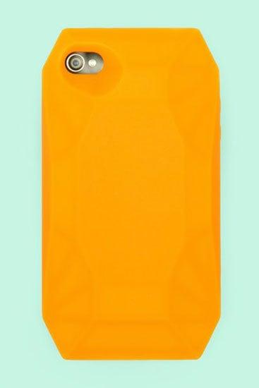 Orange Diamond iPhone 4 Case