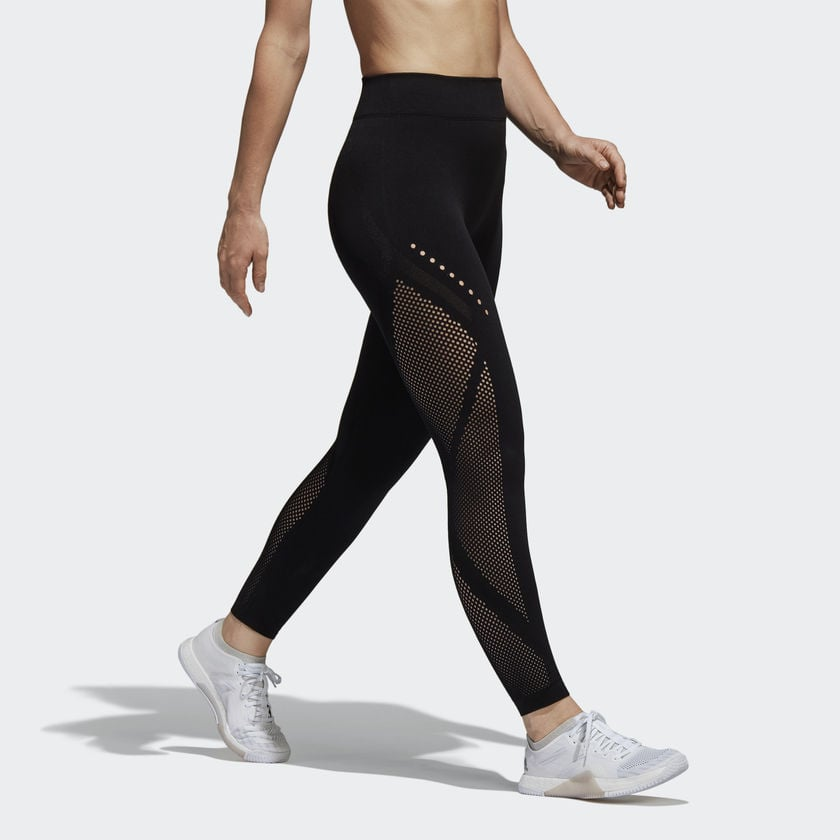 quemado Goneryl irregular  Adidas Warp Knit Tights | These Must-Have Health and Wellness Products Will  Help You Have the Happiest Spring Ever | POPSUGAR Fitness Photo 24