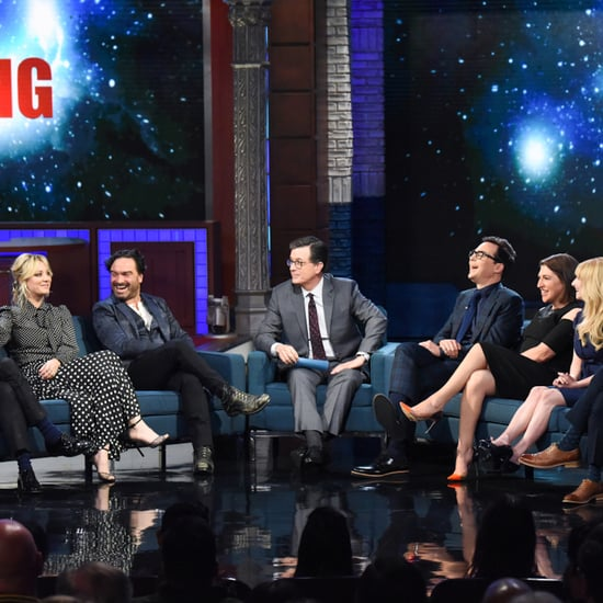 Big Bang Theory Cast on The Late Show May 2019
