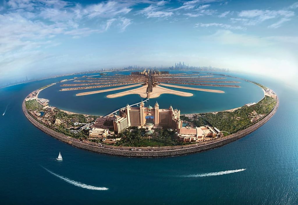 Atlantis the Palm Dubai in Top 3 Hotels on Instagram