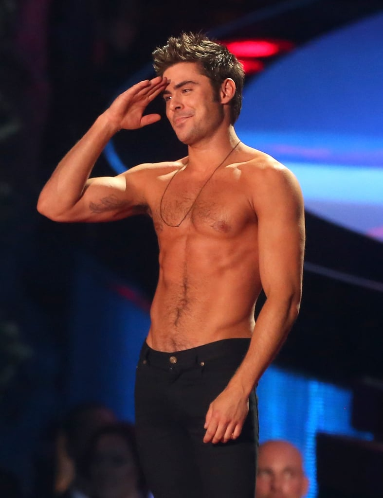 Zac Efron Shirtless | Pictures