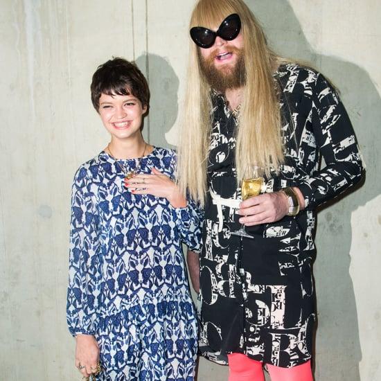 Celebrities at London & Milan Fashion Weeks Fall 2013