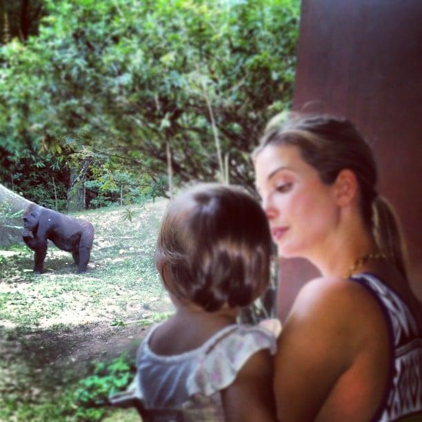 Ivanka Trump brought her baby daughter, Arabella, to the zoo. Source: Instagram user ivankatrump