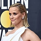 Reece Witherspoon's Flipped Out Bob at the 2020 Golden Globes