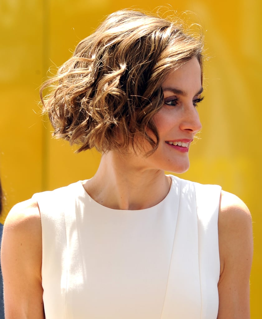 Queen Letizia of Spain | Best Bob Haircuts For All Hair Types | Celebrity  Photos | POPSUGAR Beauty UK Photo 4
