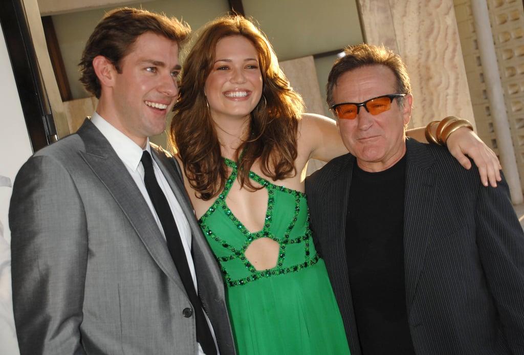 John Krasinski and Mandy Moore