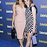 Destry Spielberg and Joey King at EW's 2020 SAG Awards Preparty