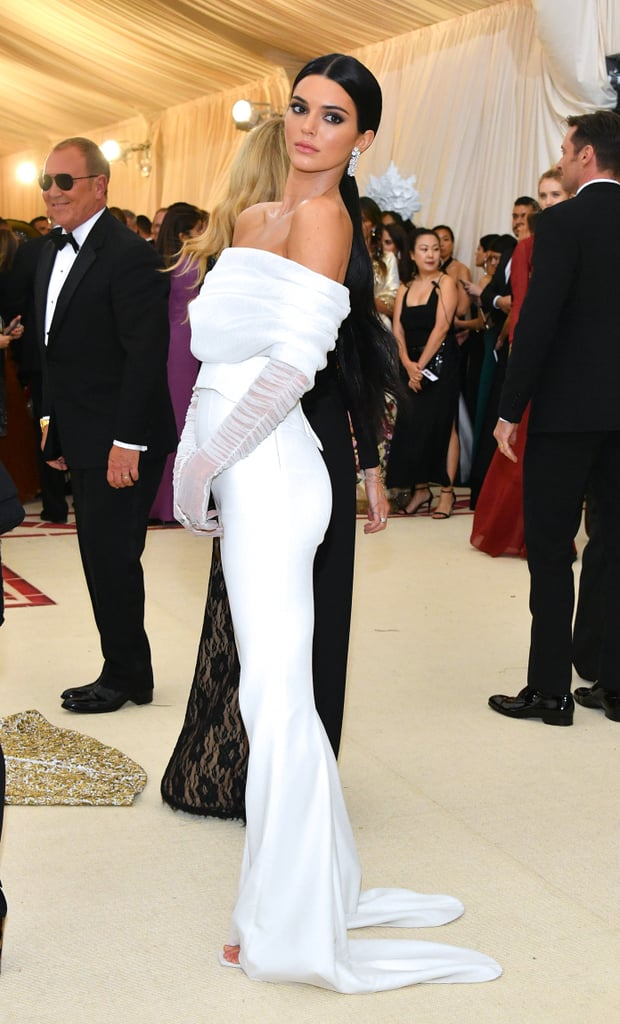 Kendall Jenner Off-White Suit Met Gala 2018