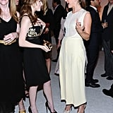 Anna Kendrick and Julianne Hough chatted at the Elle Women in Hollywood Awards in LA.