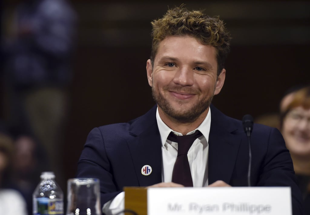 Ryan Phillippe hospitalized for leg injury