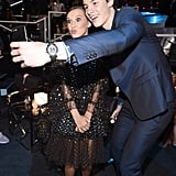 Shawn Mendes and Millie Bobby Brown