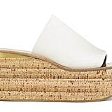 Chloé Camille Leather Platform Sandals