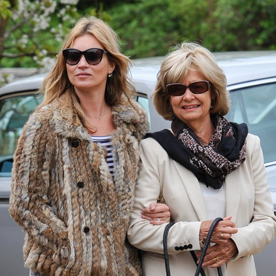 Kate Moss Pictures With Jamie Hince's Parents in London