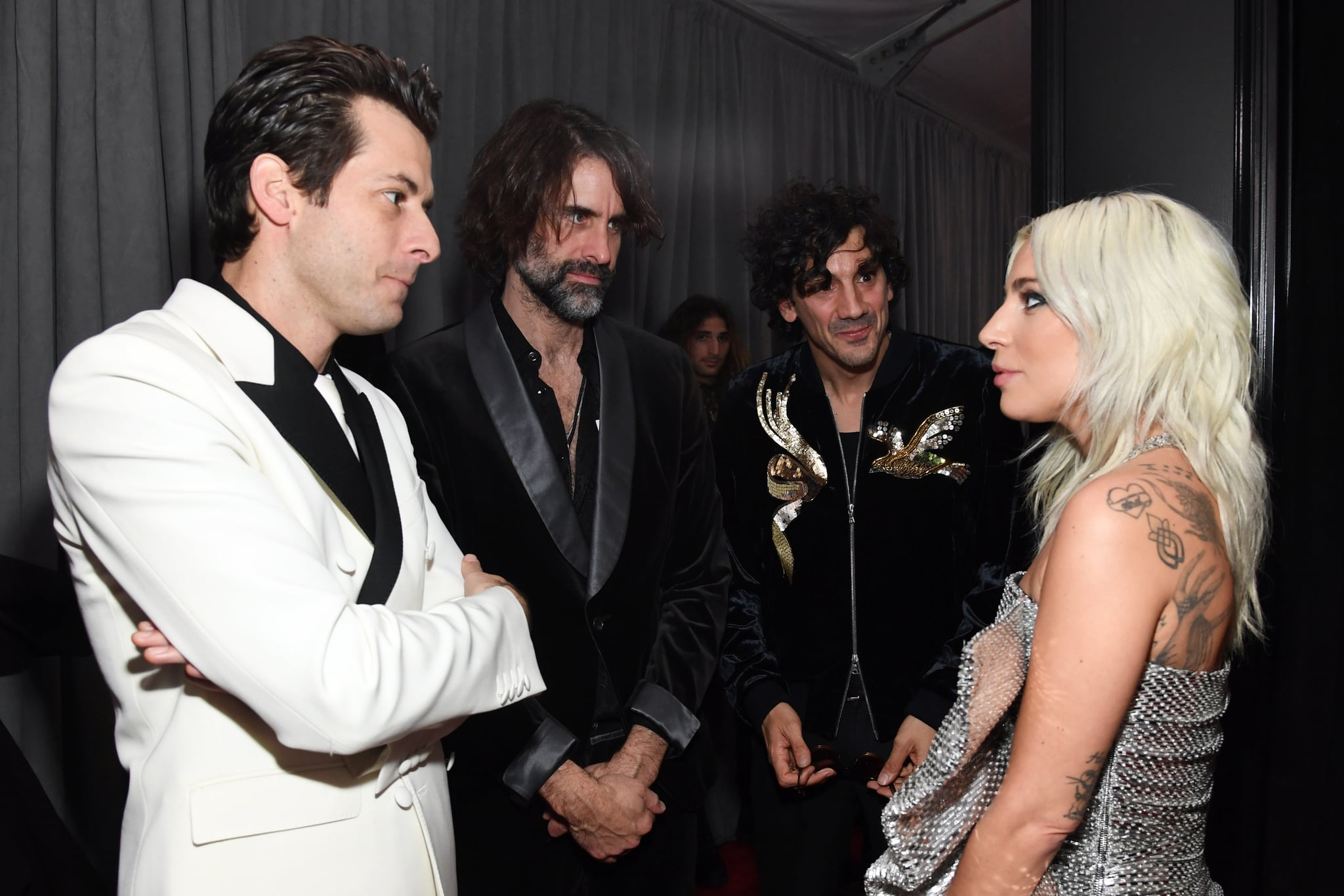 Lady Gaga And Mark Ronson Shallow Remix Grammys Afterparty Popsugar Entertainment