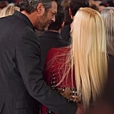 Blake Shelton and Gwen Stefani at ACM Awards 2018