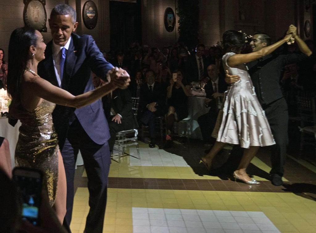 President Obama Dancing Tango