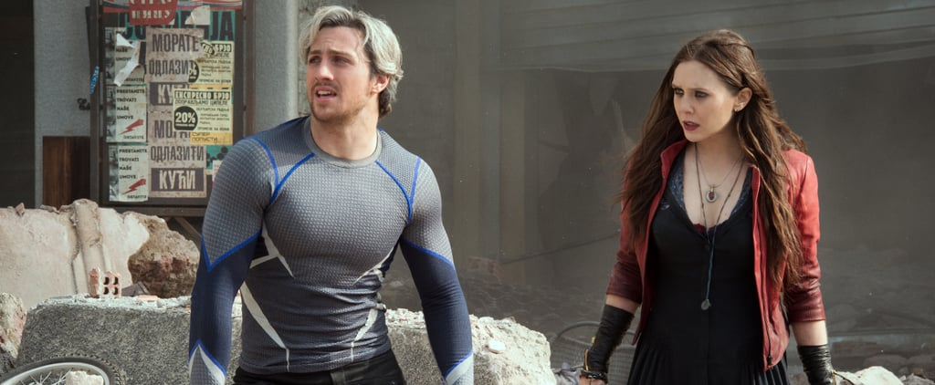 4 Things We Learned About Scarlet Witch and Quicksilver on the Age of Ultron Set