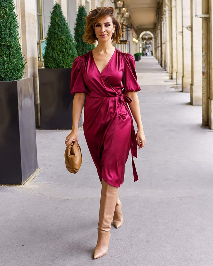 The Most Flattering Wrap Dress