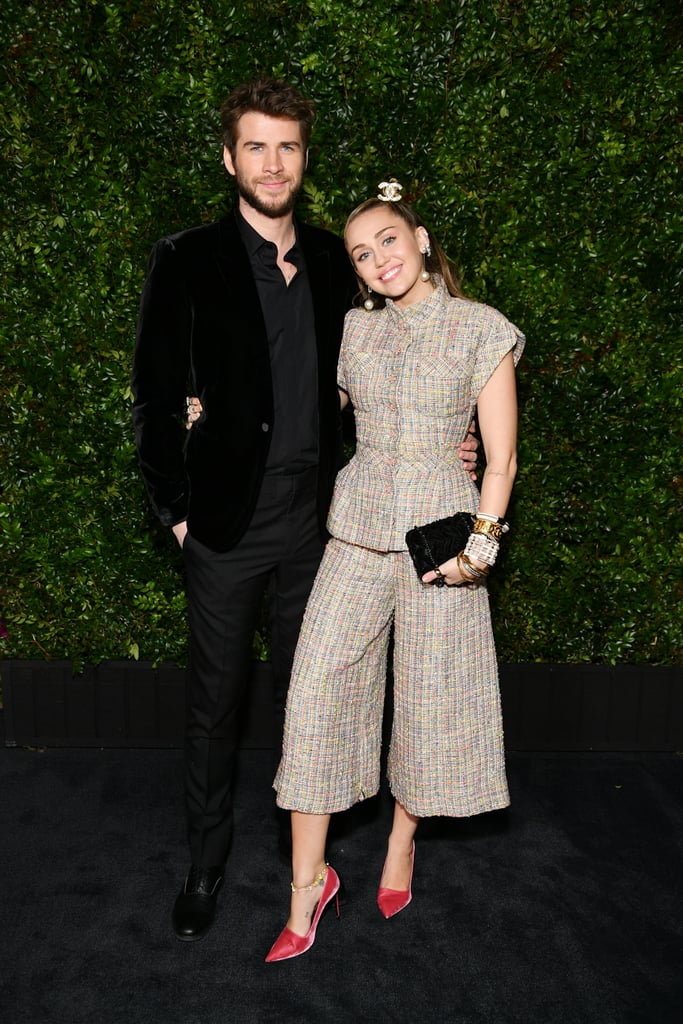 Miley Cyrus's Outfit at Chanel Oscars Preparty Feb. 2019