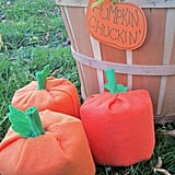 Pumpkin Chuckin' Halloween Game