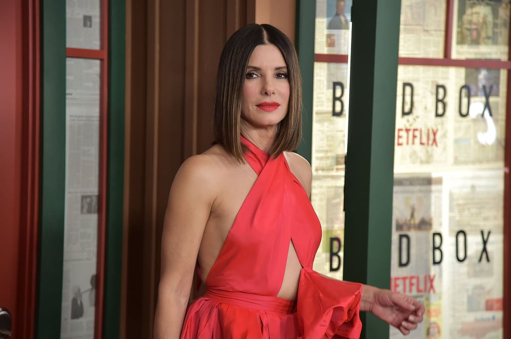 Sandra Bullock Quotes About Her Haircut Today Show 2018 Popsugar