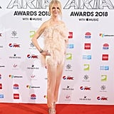 Nicole Kidman Oscar de la Renta Feather Top 2018 ARIA Awards