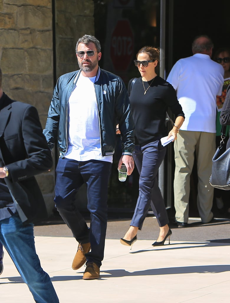 Jennifer Garner and Ben Affleck Meet Up For Sunday Service After His Rehab Stay
