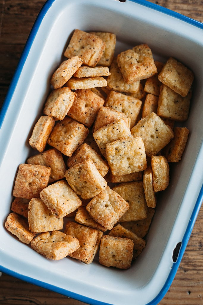 Everything Bagel Homemade Cheez-Its