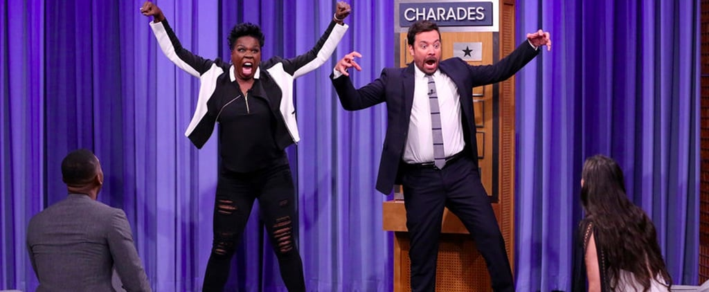 Leslie Jones Playing Charades on The Tonight Show June 2017