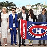 Kristen, Kirsten, Garrett, and Sam Hit Cannes With the On the Road Crew
