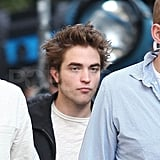 Pattinson Filming in NYC