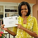 Michelle Obama Can't Wait Any Longer to Vote For Barack