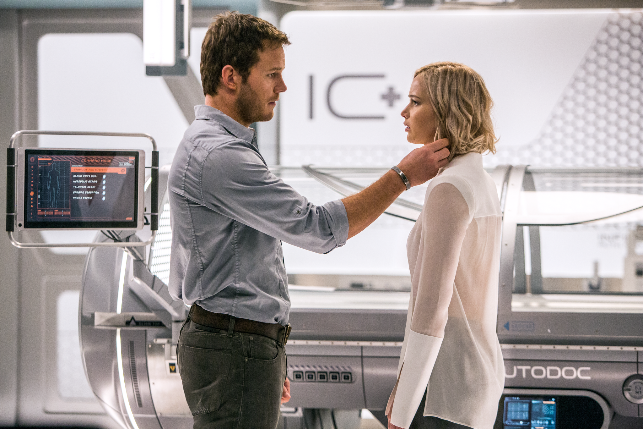 Image result for Passengers 2016 movie scenes