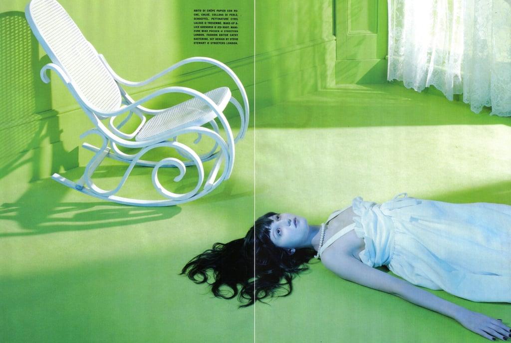 Irina Lazareanu by Miles Aldridge