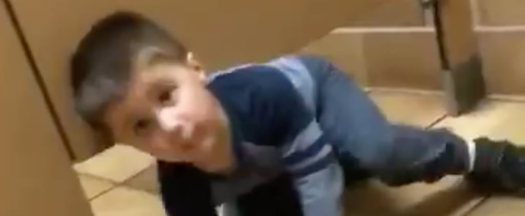 Toddler Interrupts Man in Chick-fil-A Bathroom
