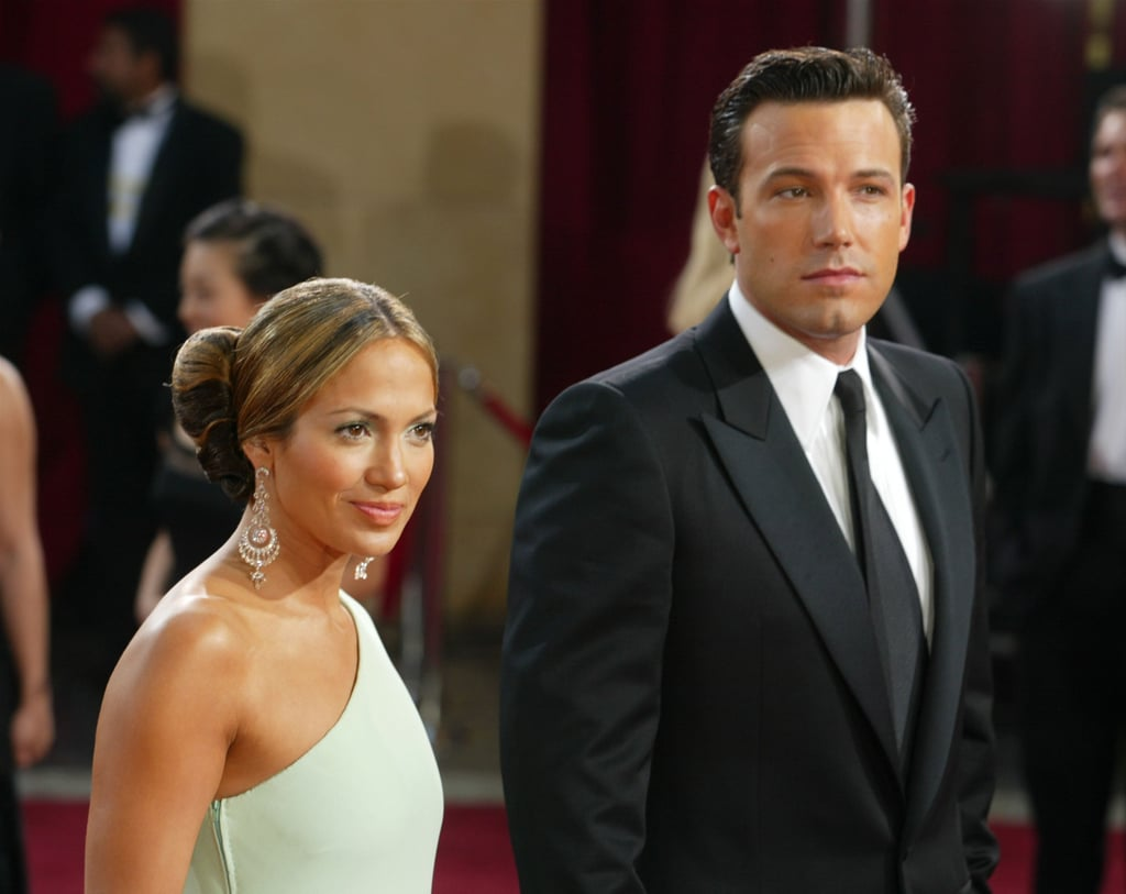 The pair got all dressed up for the Oscars in 2003.