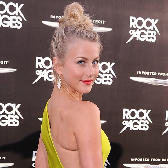 julianne hough in kaufman franco at rock of ages premiere