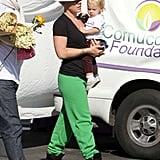 Pink gave Willow Hart a lift in Malibu.