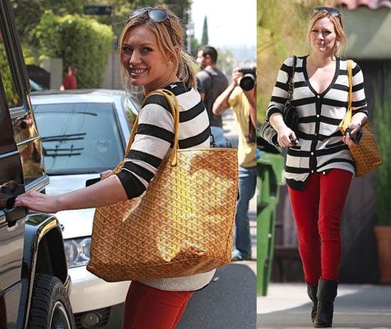 Photos of Hilary Duff in LA