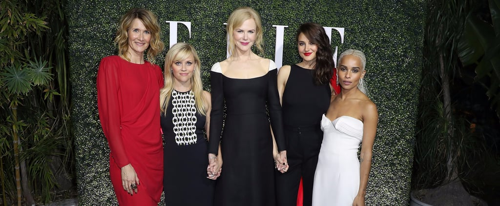 The Cast of Big Little Lies Sticks Together Ahead of the Show's Premiere