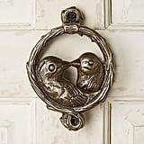 Lovebird Door Knocker
