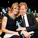 Felicity Huffman and William H. Macy cuddled up at the 2015 ceremony.