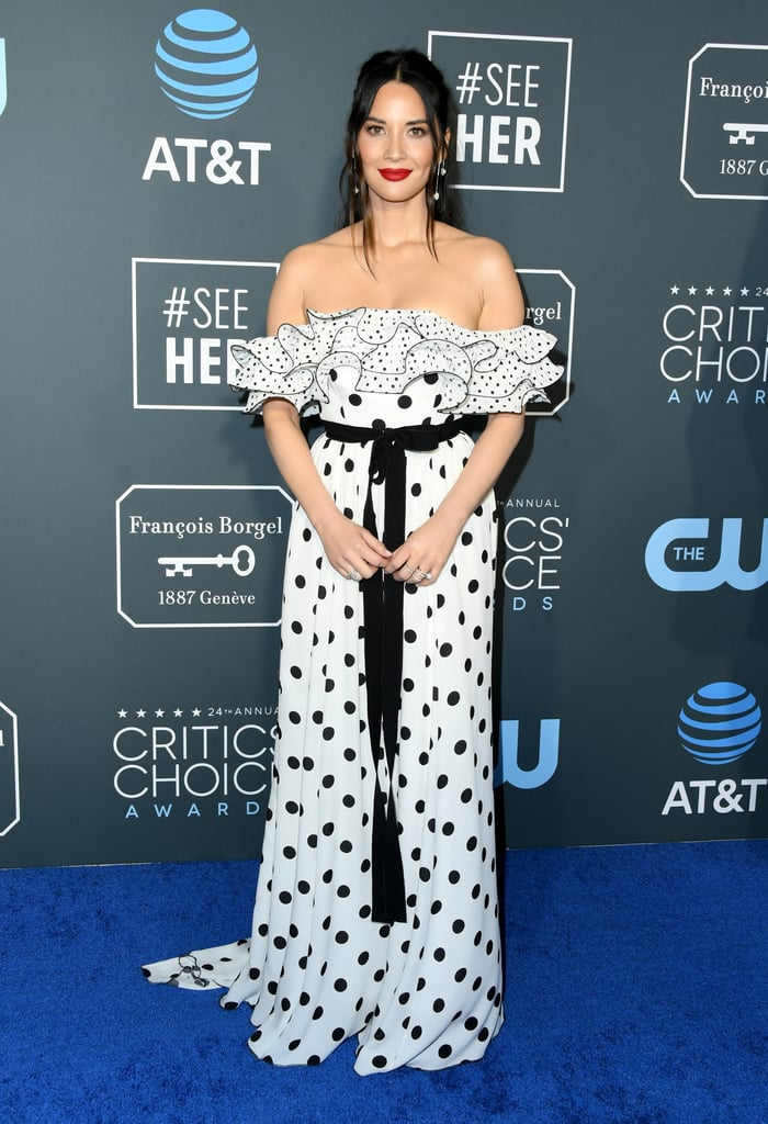 Olivia Munn at the 2019 Critics' Choice Awards