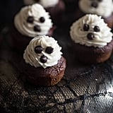 Spooky Mini Banana Cupcakes With Chocolate