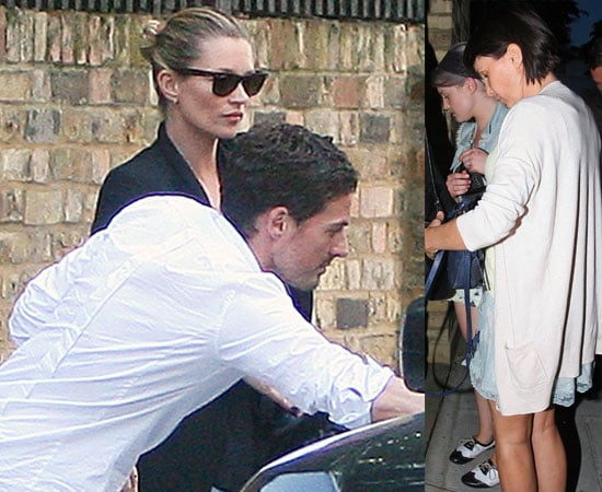 Pictures of Kate Moss and Kelly Osbourne Out Together