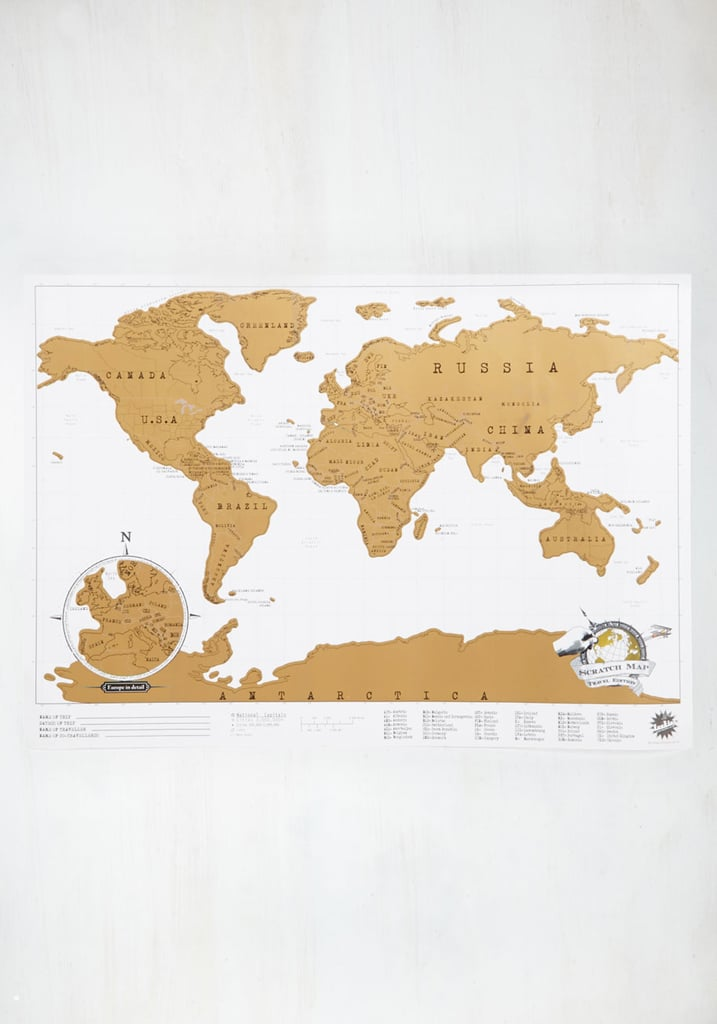 Gifts For People Who Travel – World Map Gifts For Travelers