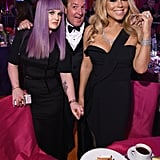 Pictured: Kelly Osbourne and Mariah Carey