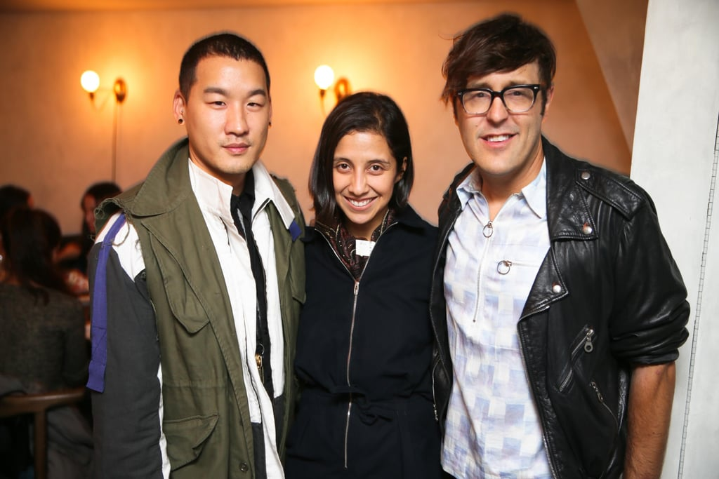 Richard Chai, Karla Martinez, and Andrew Bevan dined with JewelMint at The Musket Room in NYC.