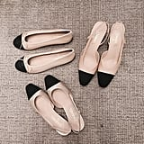 Blogger Elle Ferguson 'grammed a couple pairs – lucky!